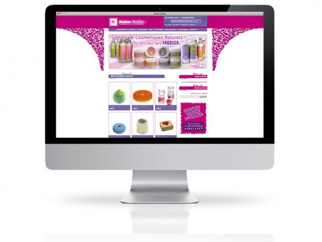1 boutique en ligne e-commerce secret garden cosmétique