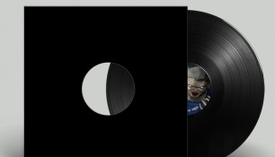 Illustration réalisée par l'agence Chimère pour le disque vinyle TM01 produit par le label Français Ténébreuse Musique.