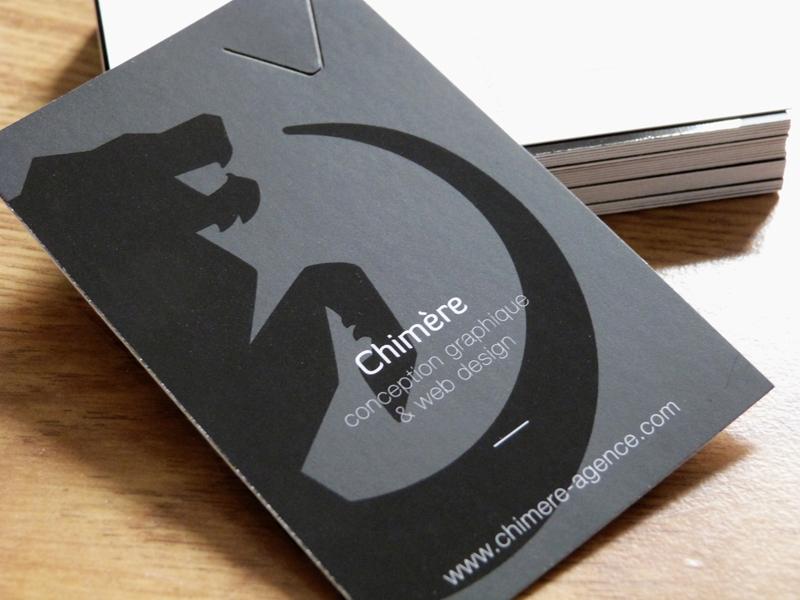 agence chimere carte de visite#2 2012