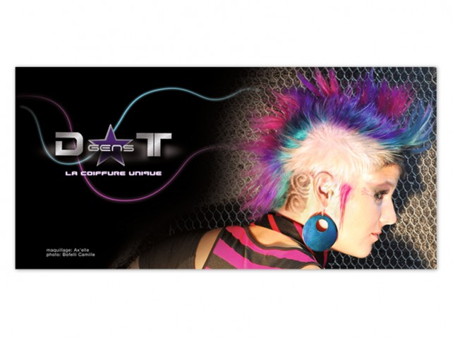 d-gens-t coiffure-poster#2-graphisme chimere