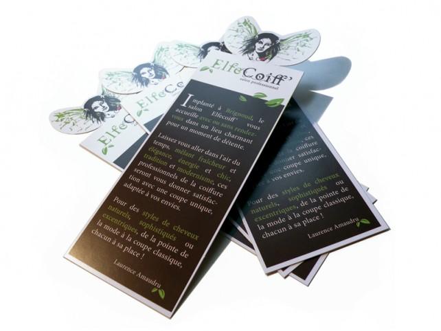 elfe coiff-carte promotionnelle-graphisme chimere