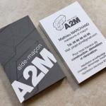 Ralisation du logo et des cartes de visite pour lahellip
