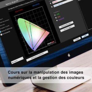 Cours sur la gestion des couleurs et sur la manipulation des images numériques