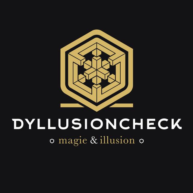 Nouveau logo ralis pour dyllusioncheck producteurs et performers illusionnistes hellip